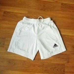 White Adidas Athletic Shorts Size Small